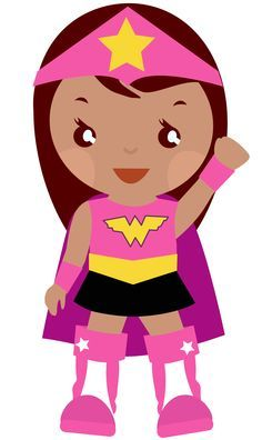 superhero girl super hero clip art free clipart images clipartcow rh pinterest com little girl superhero clipart baby girl superhero clipart