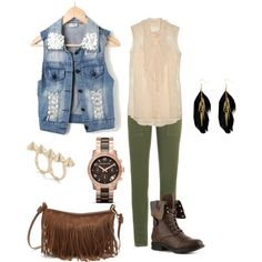"""Edgy Outfit"" by michaela-9-5 on Polyvore"