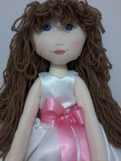 boneca de pano Daminha