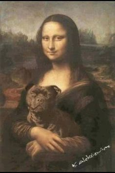 Mona Lisa Pitbull