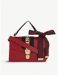 3122cf6fbe9 GUCCI Sylvie leather shoulder bag