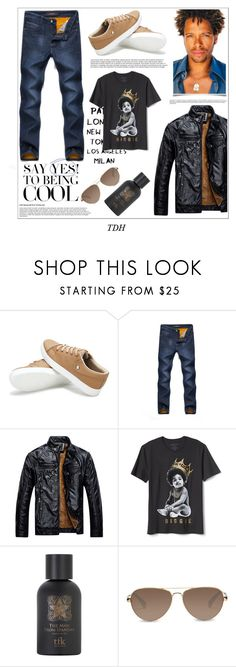 """So Fresh So Clean"" by talvadh ❤ liked on Polyvore featuring Gap, The Fragrance Kitchen, TOMS, men's fashion and menswear"