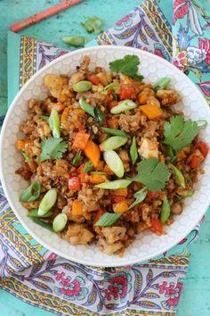 PaleOMG - My Spin on Chicken Fried Rice