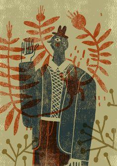 'Primavera' by Spanish illustrator Mar Hernández. via Brown Paper Bag. source: Malota on flickr