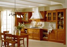 Our RD Department designed a new style kitchen cabinet which is custom made as customers requirement Name:High quality wooden kitchen cabinet classic style Products details Features: Kitchen CabinetVC-KS-SO According to environmental protection sta Solid Wood Kitchen Cabinets, Solid Wood Kitchens, Kitchen Cabinet Styles, Kitchen Sets, Classic Style, Dining Table, Modern, Furniture, Design