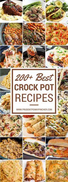 200+ Best Crock Pot Recipes