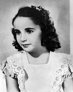 Dame Elizabeth Taylor Through the Years: 1939: age 5
