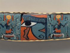"""theancientwayoflife: """" ~Mosaic glass inlay from a shrine. Culture: Egyptian Period: Greco-Roman Period Date: 100 B. European History, Art History, Mosaic Glass, Glass Art, Mediterranean Art, Ancient Egypt Art, Egyptian Art, Museum Of Fine Arts, Period"""