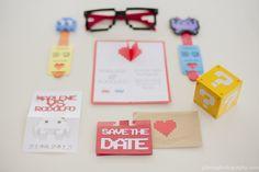 Veux-tu me bloguer ?! - Encore un faire-part de mariage geek de chez geek