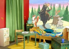 #Wall Murals #Woodland Wall Mural #Children's Room Wall Mural