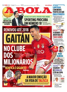 SPORTS And More: #Benfica #Argentina Gaitan signed a contract exten...