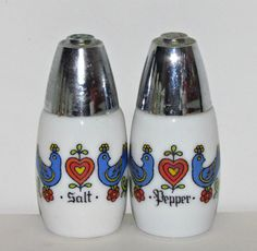 Vintage Corning 'Country Festival' Salt & Pepper by GrammysGoodys