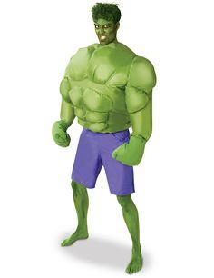 ddab662b8eea34 Déguisement gonflable Hulk™ adulte   Deguise-toi, achat de Déguisements  adultes