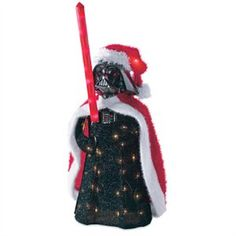 LED Christmas Decoration, 3-D Star Wars Darth Vader, Outdoor, 28-In.: Model
