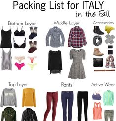 We are leaving for Italy in a WEEK! I'll be doing a trial run of my packing over the weekend, so I've been narrowing down what I want to car...