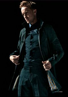 Horrible, horrible coat but such a fine, fine man ~ Tom Felton/Draco Malfoy ~
