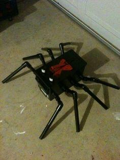 spider - geocache.....fun one!!
