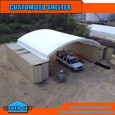 Source large dome 40ft container canopy on m.alibaba.com