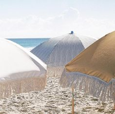 No matter the setting, a patio umbrella is a perfect option and a necessary element. A quality patio umbrella enhances satisfaction and safety in an outdoor patio or beach setting. The Beach, Beach Bum, Beach Cabana, Hawaii Beach, Oahu Hawaii, Beach Aesthetic, Summer Aesthetic, Shade Canopy, Beach Umbrella
