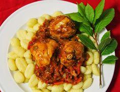 Estofado de pollo - Tembi'u Paraguay