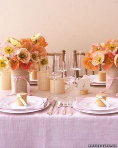 Image detail for -Bright Orange Wedding Centerpieces