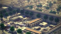 Tertiary Dreams In The Nile , Millennium's Prosperity Will Go On——The Ancient Egyptian City Minecraft Project