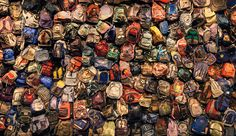 an anthropologist named Jason De León collects what is discarded by those who make it into the US. Many of these items have been exhibited at the University of Michigan, where De León is the director of the Undocumented Migration Project.