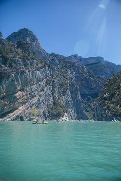 Gorge du Verdon, Provence (Lac de Sainte-Croix)