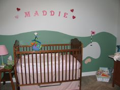 Golf theme decor plaid fabrics and alligators in a baby boy
