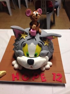 Top 10 Tom and Jerry Birthday Cakes Toms Birthday cakes and Cake