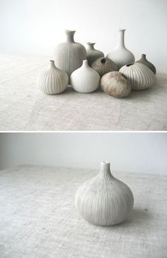 pebble vases by linform