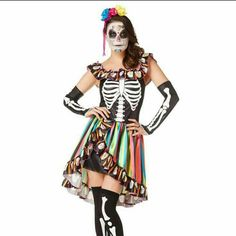 Spanish sweetie costume Day of the dead costume Spirit Halloween  Other