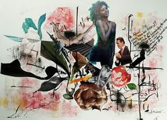 Genre: Paper CollageType: Environmental ArtMedium: Found Posters