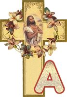 Alfabeto de Cristo y Cruz.