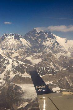 Mount Everest by mobilevirgin, via Flickr