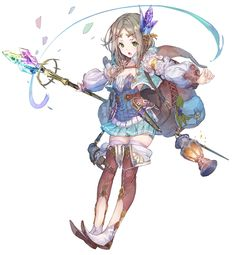Firis Mistlud from Atelier Firis: The Alchemist and the Mysterious Journey