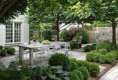 Ideas For Backyard Dining Grass Backyard Pergola, Fire Pit Backyard, Backyard Landscaping, Wedding Backyard, Fresco, Dog Friendly Backyard, Dog Garden, Terrace Garden, Modern Garden Design