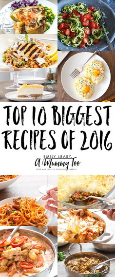 These are 10 most popular recipes of 2016. If you haven't seen any of them before, then hopefully they'll give you some New Year's inspiration.
