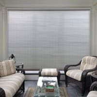 Buy Outdoor Window Treatments Online at Overstock | Our Best Outdoor Decor Deals Decor, Home, Home Decor Trends, Living Room Windows, Shades, Home Decor Outlet, Patio Store, Havenside Home, Solar Shades