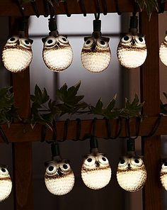 Owl Light String