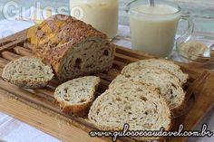 Rabanada Light de Pão Integral » Doces e sobremesas, Receitas Saudáveis » Guloso e Saudável