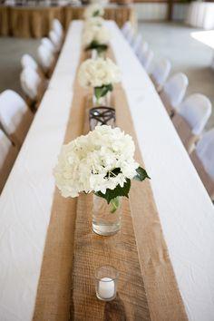 Wedding table settng