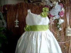 Βαπτιστικό φόρεμα για μικρές νεραϊδούλες - YouTube