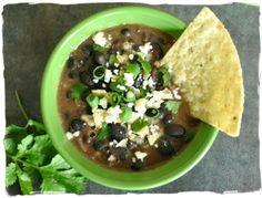 Best Slow Cooker Black Bean Soup