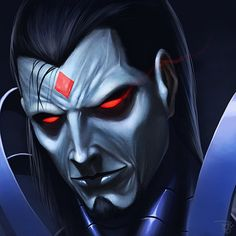 Sinister from the X-Men comics This is for a commission. Marvel Villains, Marvel Vs, Marvel Dc Comics, Marvel Comic Universe, Comics Universe, Marvel Comic Character, Comic Book Characters, Mr Sinister Marvel, Pale Face