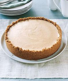 Use pumpkin puree and pumpkin pie spice for a double dose of autumn flavor in this cheesecake.