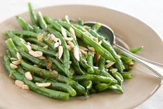 Green Beans with Shallots and Almonds | Whole Foods Market <3