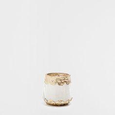 Metalen glazen kaarshouder