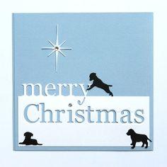 Memory Box Grand Merry Christmas with Labrador by MelAriandme