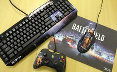 Linha Battlefield 3 da Razer é o sonho de consumo de qualquer gamer
